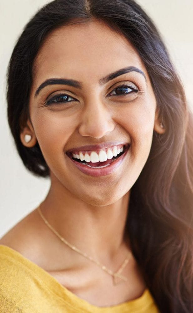 indian smiling dental